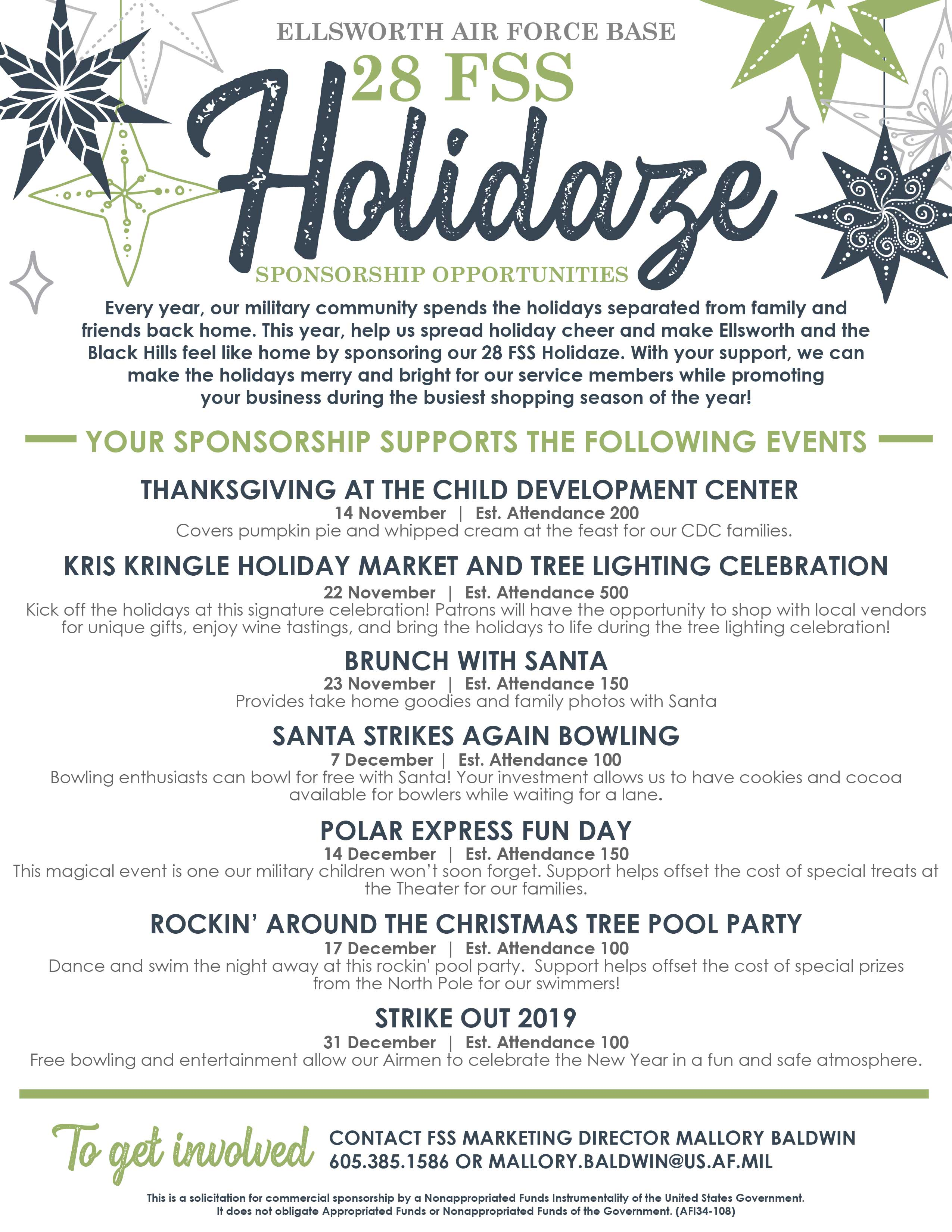 Holidaze Solicitation Flyer 01 web