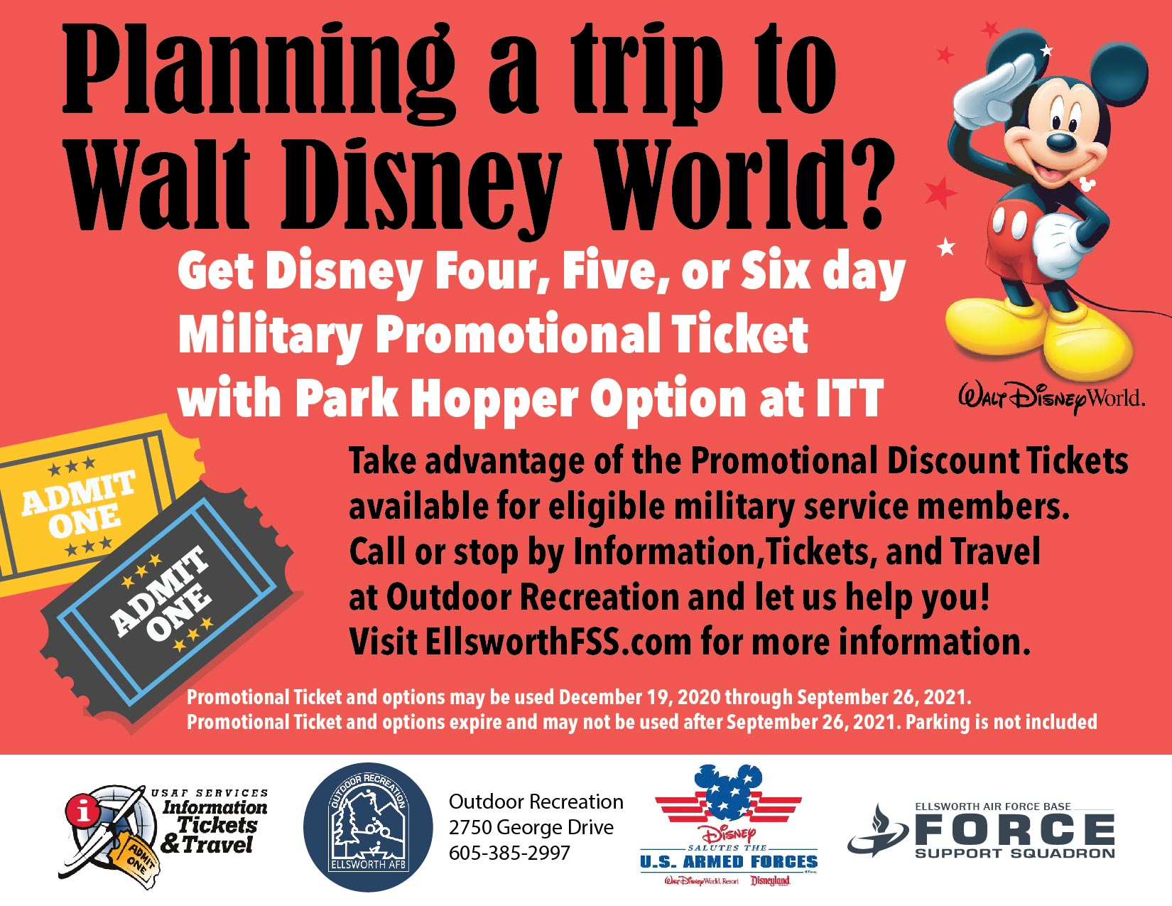 ODR   ITT travel promotion Disney 01